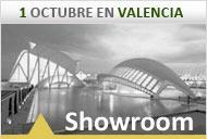 Showroom  de joyería en Valencia