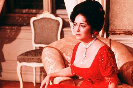 Elisabeth Taylos y La Peregrina en el cine