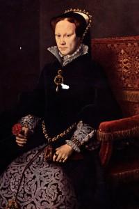 María Tudor con la perla La Peregrina