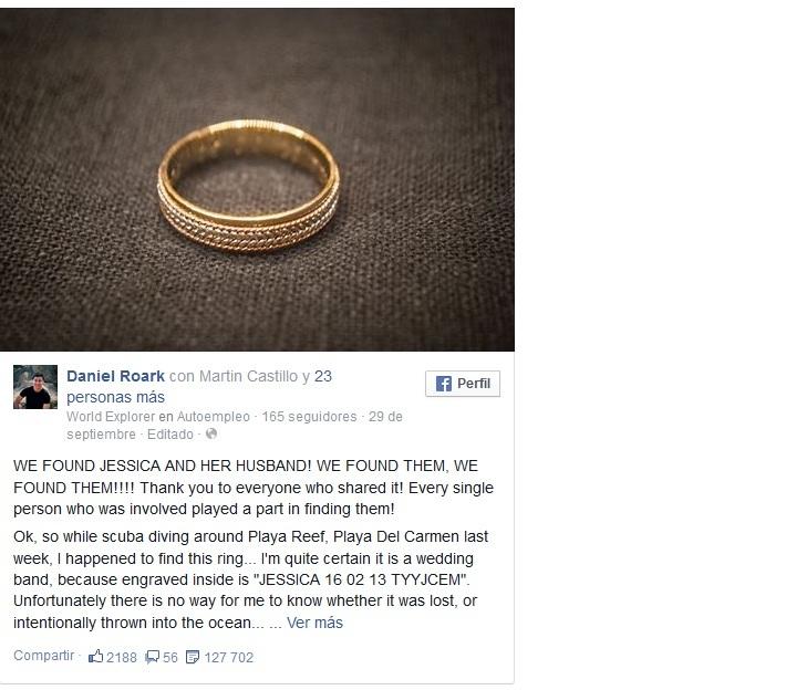anillo perdido