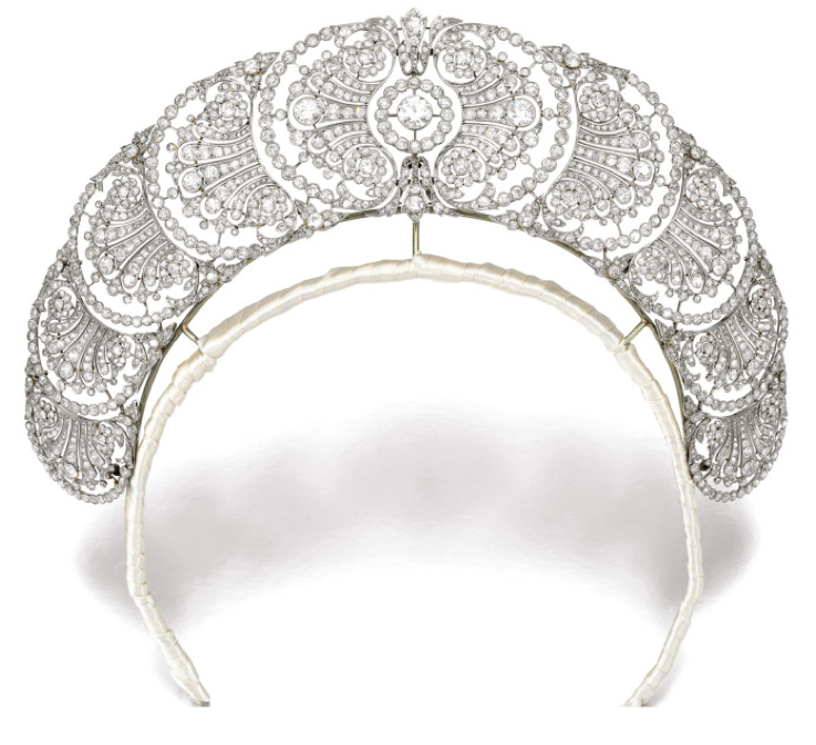 Belle Epoque Diamond Tiara