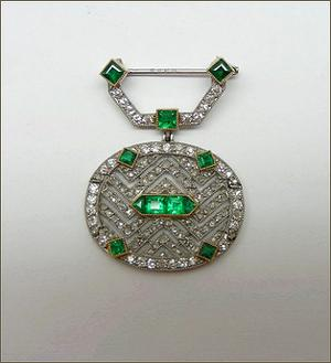 Cartier_Belle Epoque Brooche