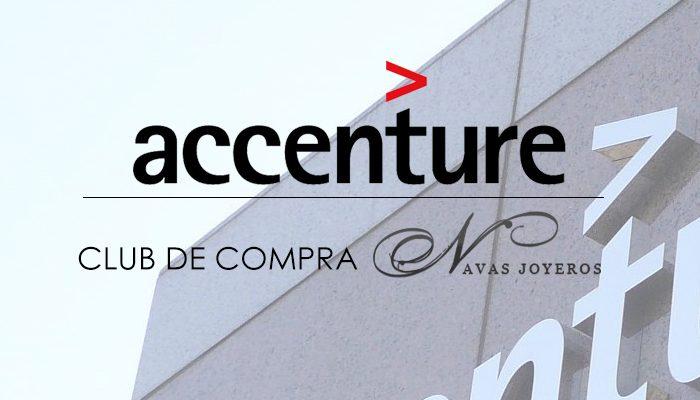 Club de compra Accenture con Navas joyeros