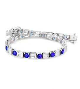 RHIN, Pulsera de zafiros y diamantes