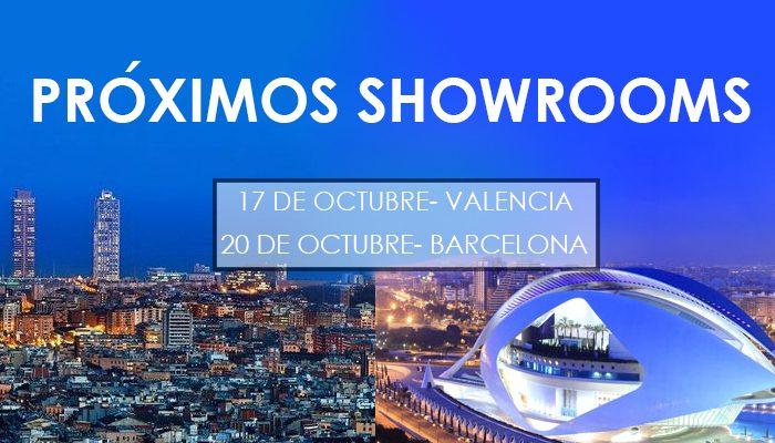 showrooms joyeria en Valencia y Barcelona