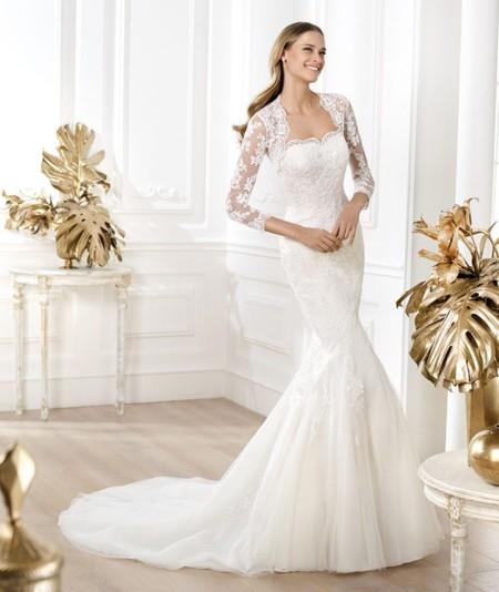 vestidos de novia de manga larga para cualquier Época del aÑo - blog