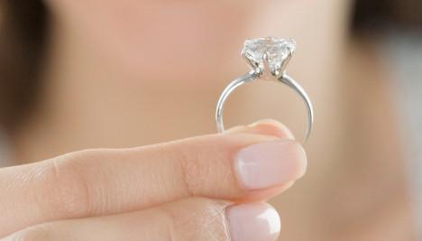 solitario de diamantes