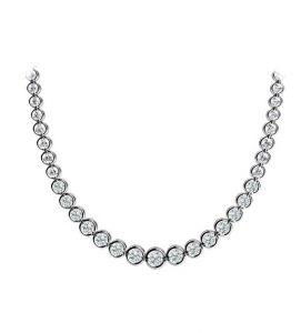 SERENA, Collar de diamantes
