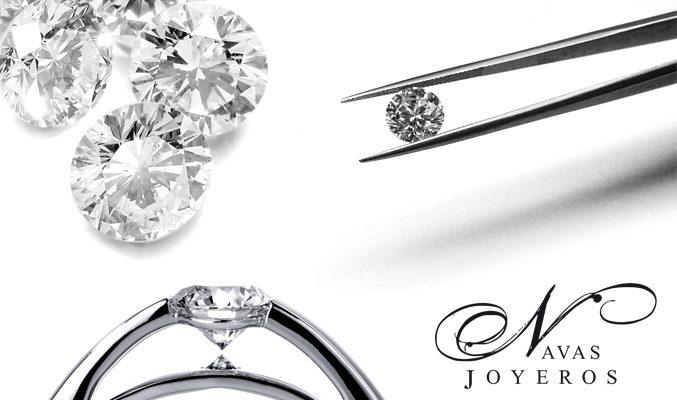 anillo de compromiso diamante