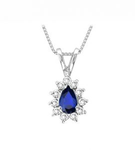 colgante de zafiro y diamantes judith