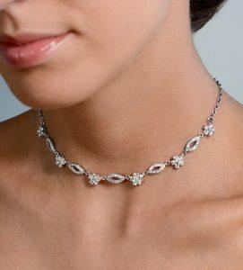 collar de diamantes radpusen