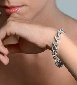 pulsera de diamanetes versalles