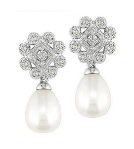 pendientes de perlas y diamantes navas joyeros