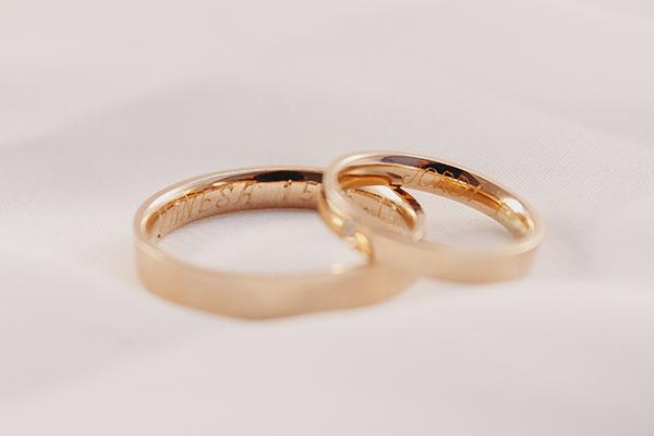 anillos grabados