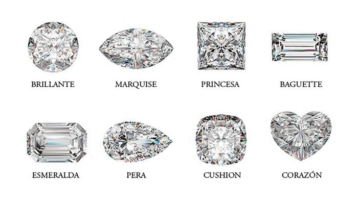 talla de diamante